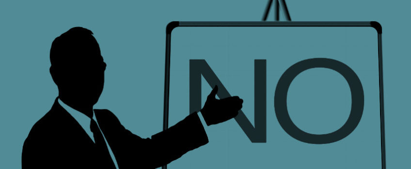 Yes, you're allowed to say 'no' in sales. Here's how to do it right.