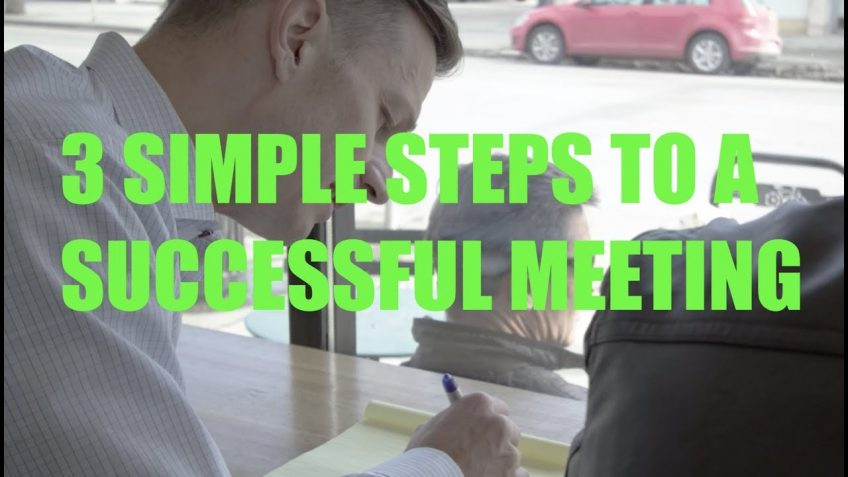 The HUSTLE Video Series Episode 48 – 3 Simple Steps to a Successful Meeting